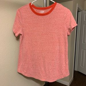 Old Navy Everyday Wear Orange Tee